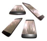 smart isolerad telefon royaltyfri illustrationer