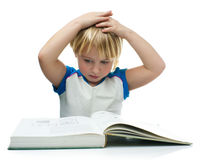 Smart kid Royalty Free Stock Images