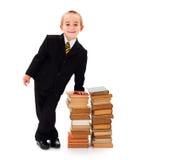 Smart Kid Businessman Stock Image