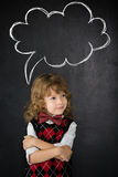 Smart kid in class royalty free stock photography