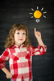 Smart kid Stock Images