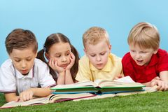 Smart kids Stock Photos