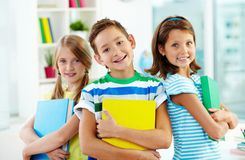Smart kids Stock Images