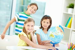 Smart kids Stock Photography