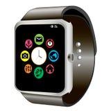 Smart klocka och wifi Royaltyfria Bilder