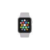 Smart klockalägenhetdesign Arkivbilder