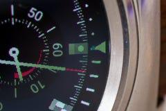Smart klockaskärm Arkivbild