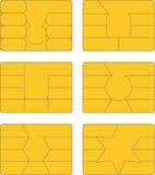 Smart kort vektor illustrationer