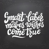 Smart labor makes wishes come true Royalty Free Stock Image