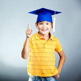 Smart lad Royalty Free Stock Images