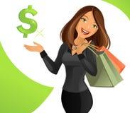 Smart Lady stock photo