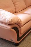 Smart leather sofa Royalty Free Stock Photos