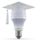 Smart led light bulb Stock Photography