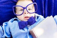 Smart little boy Stock Images
