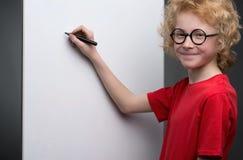 Smart little boy. Stock Image