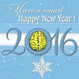 Smart lyckligt nytt år Royaltyfria Foton