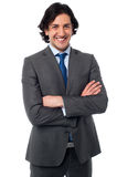 Smart male business professional stock photography