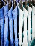 Smart men`s shirts Stock Image
