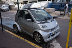 Smart Micro Car Stock Image