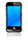 smart mobil telefon för cell Fotografering för Bildbyråer