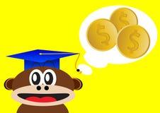 Smart monkey Stock Photo