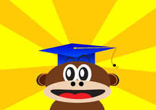 Smart monkey Royalty Free Stock Image