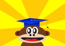 Smart monkey Royalty Free Stock Image