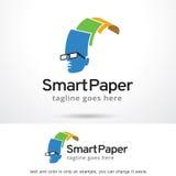 Smart Paper Logo Template Design Vector Stock Photos