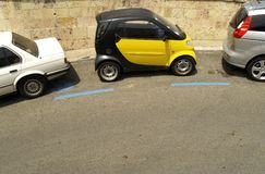 smart parkering Arkivfoton