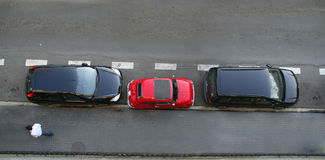 Smart parking Stock Image