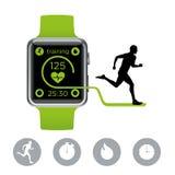Smart passt Läufer auf Lizenzfreie Stockbilder