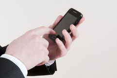 Smart phone Stock Image