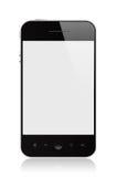 Smart Phone. Modern smart phone  on white Royalty Free Stock Image