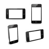 Smart Phone Angle Pack Royalty Free Stock Photo