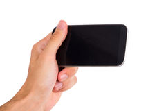 Smart Phone with Blank Screen Royalty Free Stock Photos