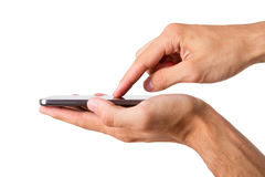 Smart Phone with Blank Screen Royalty Free Stock Photo