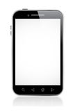 Smart Phone With Blank Screen Stock Image