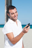 Smart phone communication Royalty Free Stock Photography