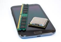 Smart Phone and Computer parts Stock Photos