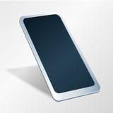 Smart Phone con il touch screen Sguardo di prospettiva Immagine di vettore Fotografia Stock