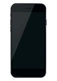 Smart Phone con lo schermo nero Fotografia Stock Libera da Diritti