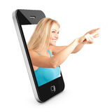 Smart phone Concept With Beautiful Royalty Free Stock Photos