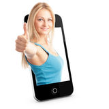 Smart phone Concept With Beautiful Royalty Free Stock Photo