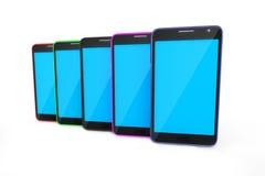 Smart Phone dei dispositivi di Digital Immagini Stock Libere da Diritti
