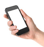 Smart Phone a disposizione Fotografia Stock