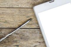 Smart Phone e cacciavite per la riparazione Fotografie Stock