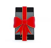 Smart Phone gift Stock Photography