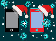 Smart Phone gift Royalty Free Stock Photography