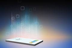 Smart phone illustration Royalty Free Stock Photography