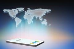 Smart phone illustration Stock Image